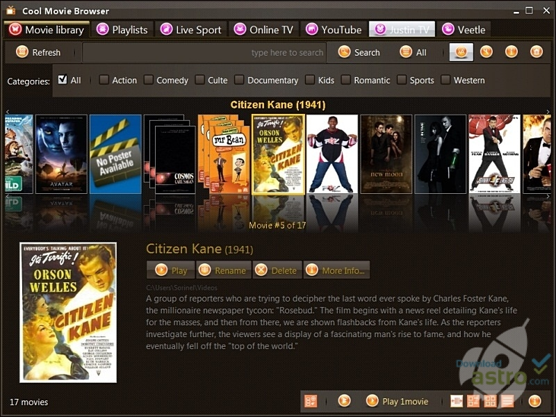 to browser from how movies download