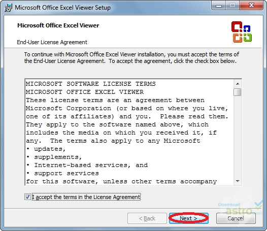 how to open xlsx file in office 2010