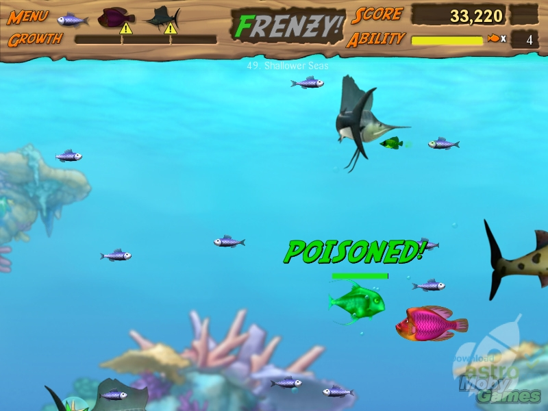 Feeding frenzy 2 latest version 2017 free download for Fish frenzy game