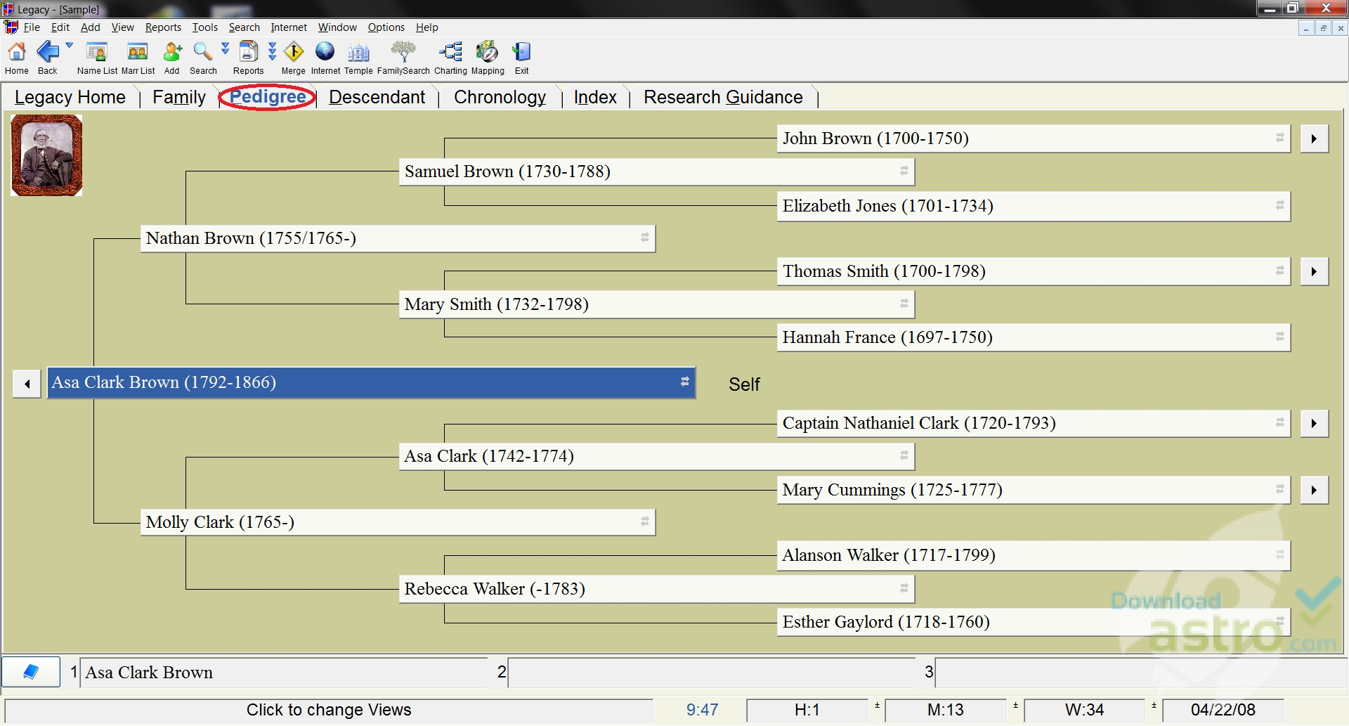 Legacy Family Tree 8 Revealed June 10, It's time to start unwrapping the newest edition of our Legacy Family Tree software - version 8 - but just a little at a time.