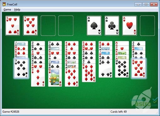 Microsoft FreeCell  neueste Version, kostenloser Download 2017