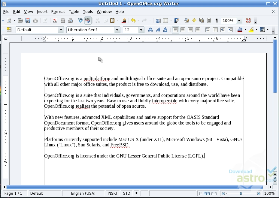 Open office la derni re version t l charger - Telecharger open office gratuitement sans virus ...