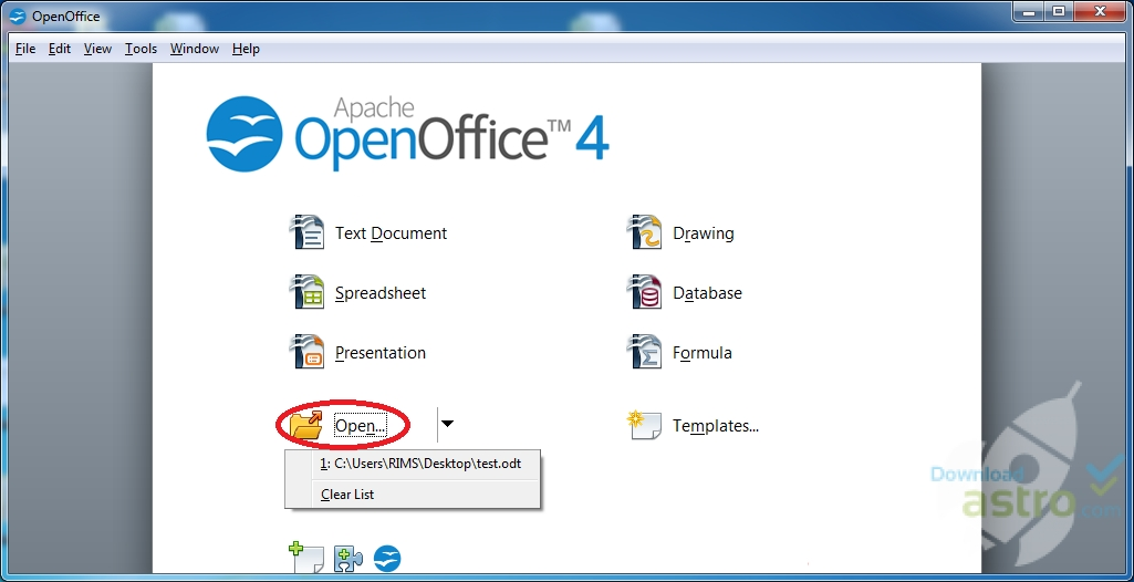Open office latest version 2017 free download