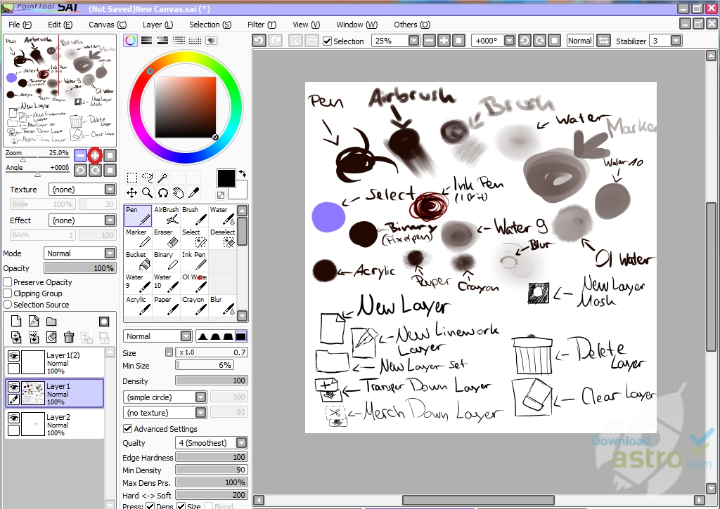 Download Full Paint Tool Sai Free