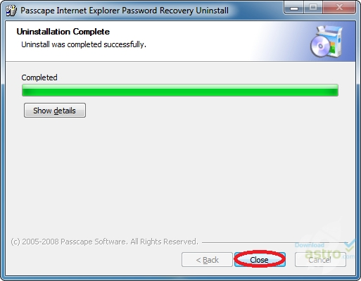 recover passwords 2 - the passwords dialog box will appear on the screen it contains two sections: back-up passwords and recover passwords (picture no 2.