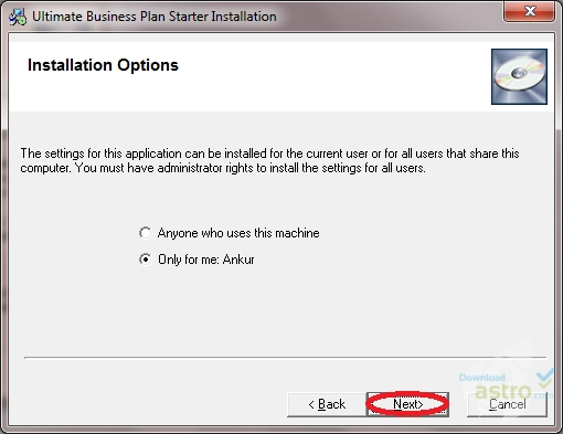 Users of business plan