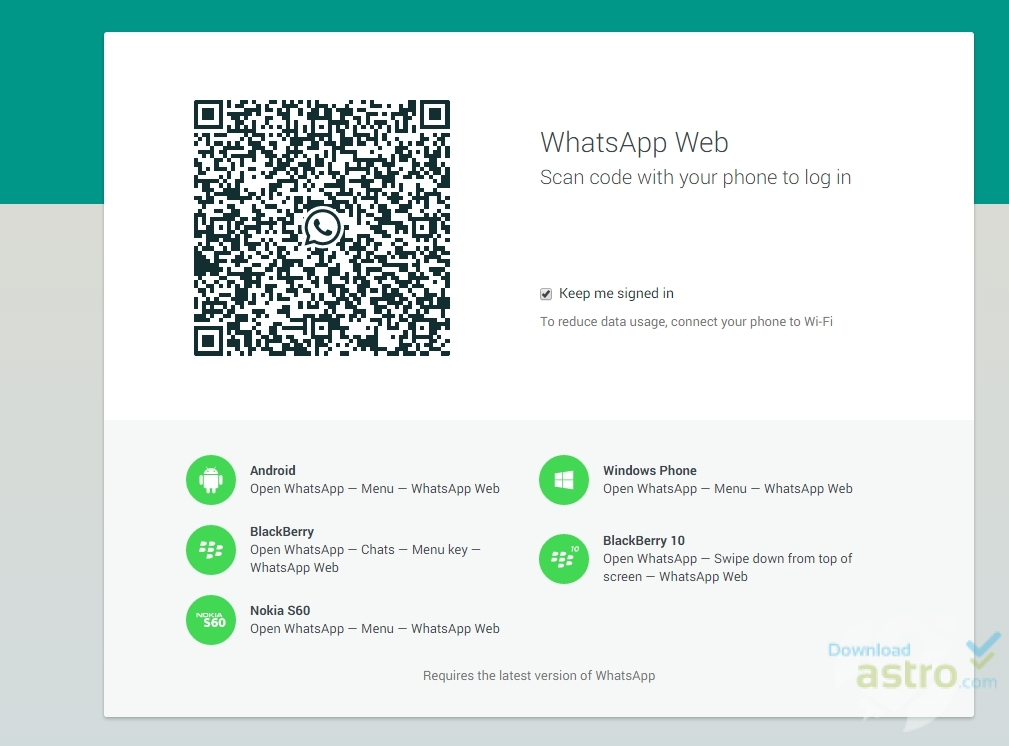 Whatsapp download ios version