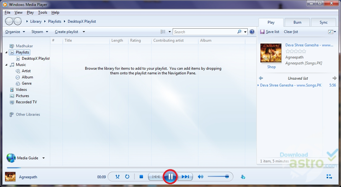 microsoft windows media player free