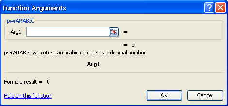 Converting text into numbers
