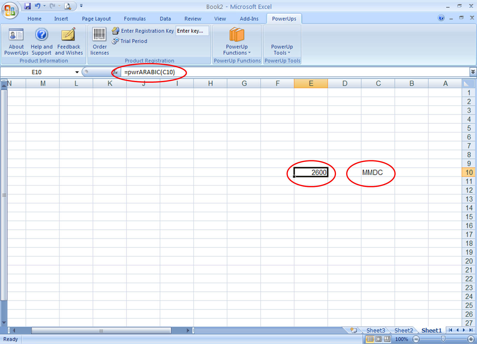 Workbooks worksheets on roman numerals : Converting Roman numeral Text to Numbers in Excel
