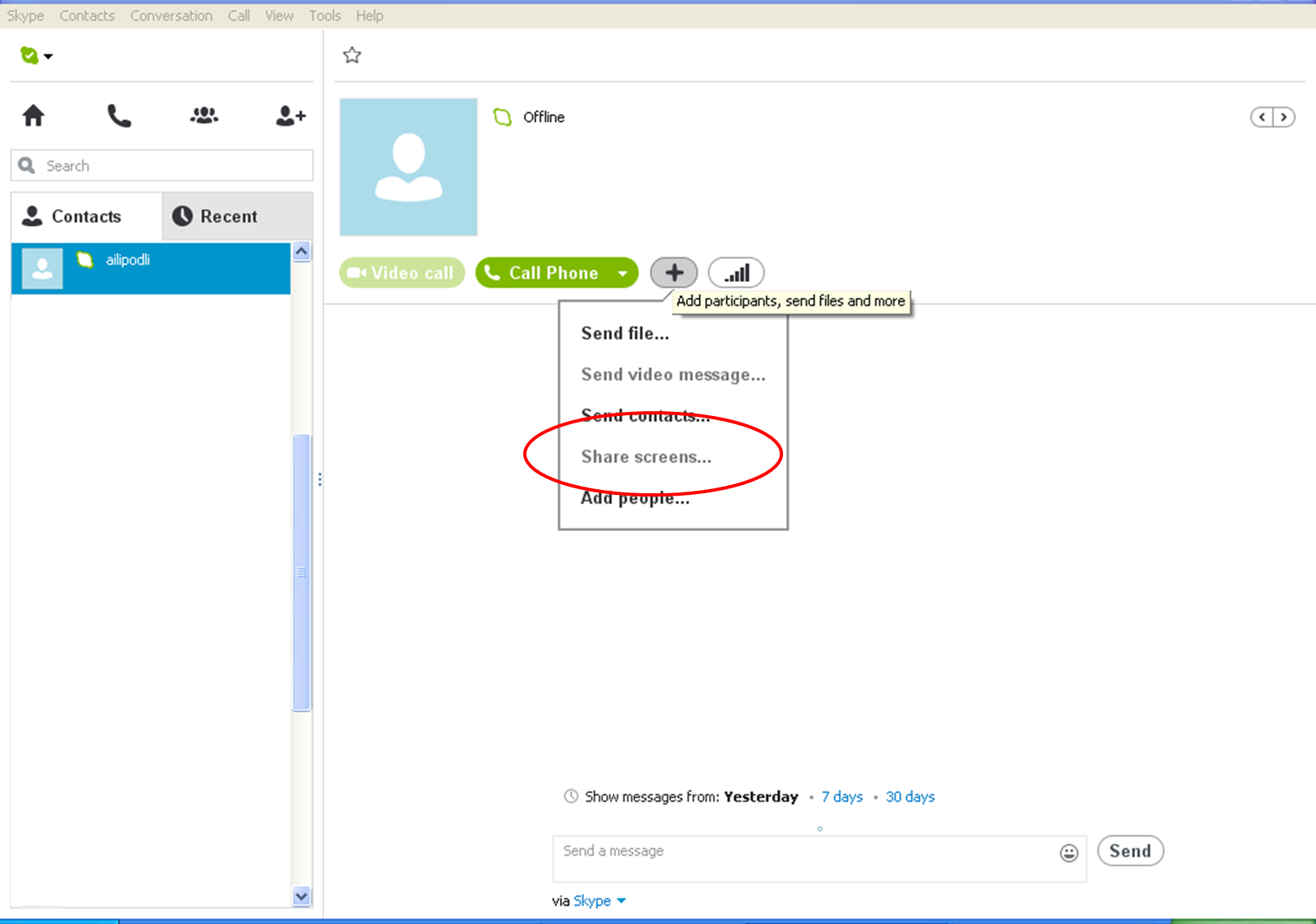 how to download skype call history