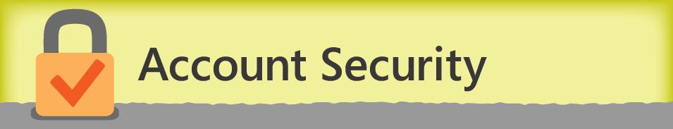 حماية الحساب
