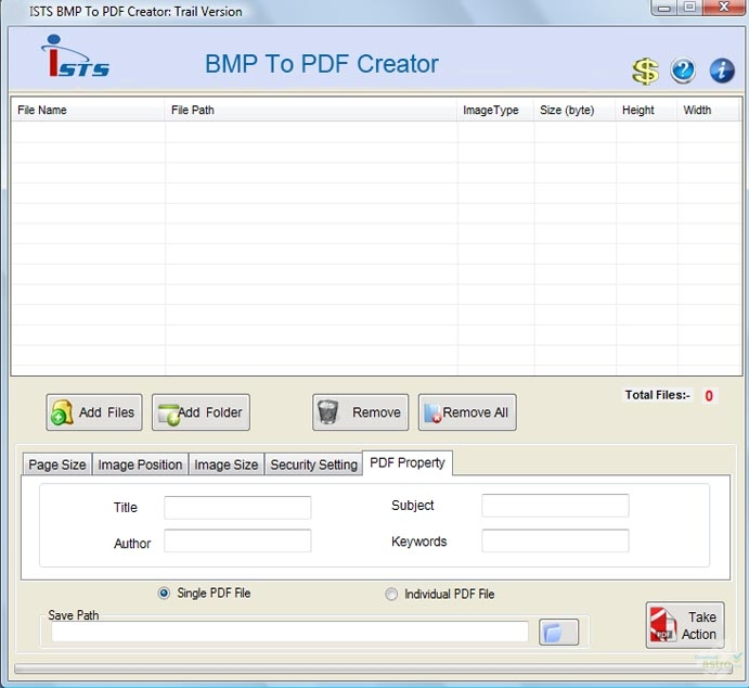 software convert bmp to pdf